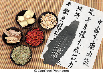 Chinese Health Care - Chinese herbal medicine selection with...