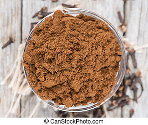 Clove Powder in a bowl - Clove Powder in a small bowl...