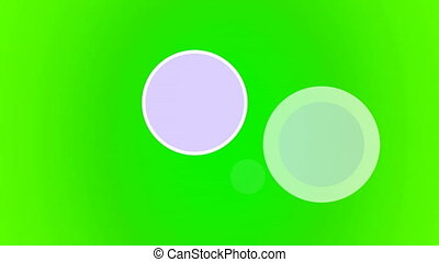 Flying Discs green Seamless