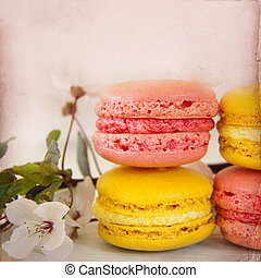 Sweet Macarons Background