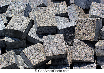 Stone floor background or texture