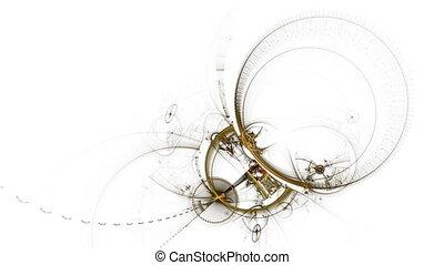 Ancient Metallic Broken Mechanism