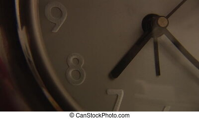 Clock Showing Time Passing - Stock Video Footage of a Clock