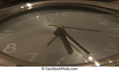 Time passing - Stock Video Footage of a Clock