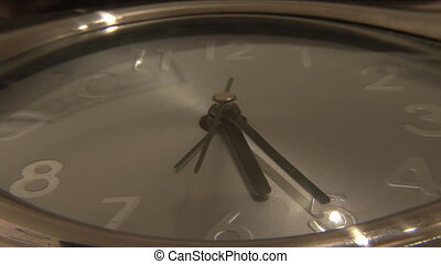 Passing time - Stock Video Footage of a Clock