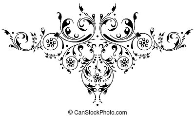 Ancient ornament - Ornamental design, digital artwork
