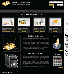 website template 11 - Website template design along with...