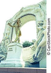 The Statue of Johann Strauss