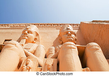 abu simbel egypt as ancient Egypt's Cathedral is made up of...