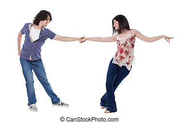 West Coast Swing Dance - Social dance West Coast Swing....