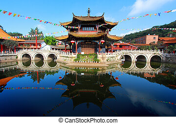 Yuantong Kunming Temple , Kunming capital city of Yunnan,...