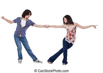 West Coast Swing Dance - Social dance West Coast Swing....