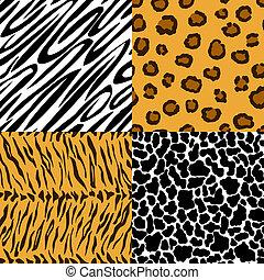 Seamless texture of animal skin
