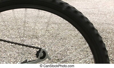 Bicycle wheel - Stock Video Footage of a Bicycle wheel