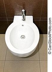 Sanitary - Close up shot of oval wash basin