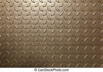 Metal leaves background