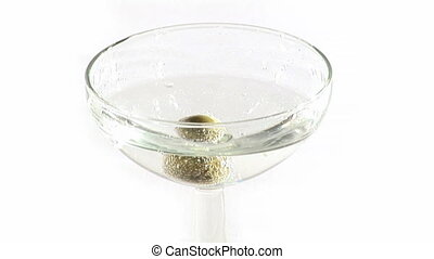 Martini - Stock Video Footage of a Martini Cocktail