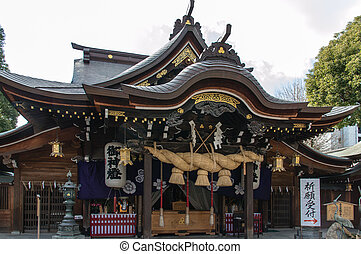 Kushida Shrine - Fukuoka Japan - Januari 14th 2014....