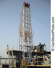land rig Qatar - new rig being commissioned in Doha.