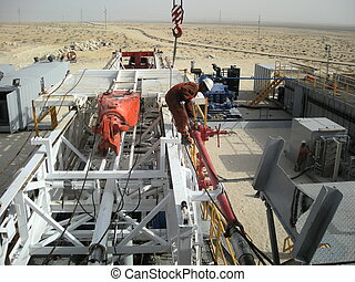 truck mounted land rig - commissioning land rig Doha