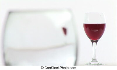 Pouring Red Wine - Stock Video Footage of Red Wine Being...