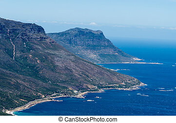 Cape Town - Detail of the Twelve Apostles Cape Town, South...