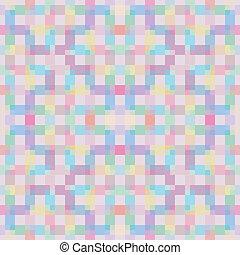 Pixel pattern.
