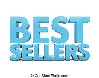 3d best sellers - Best sellers icon on a white background....