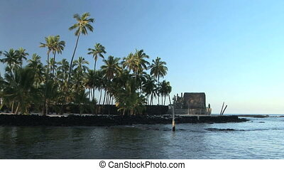 Hawaiian Place of Refuge - Pu\'uhonua o Honaunau National...