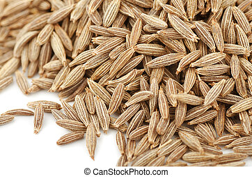 Cumin - Close up of cumin seeds