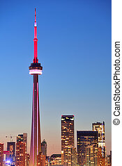 CN Tower Toronto - TORONTO, CANADA - JULY 2: CN Tower...