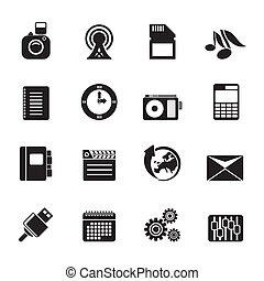 Phone, Business and Office Icons