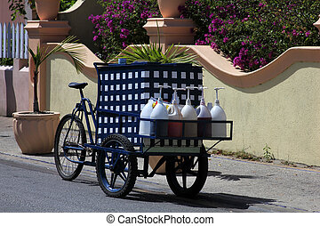traditional shop on wheels