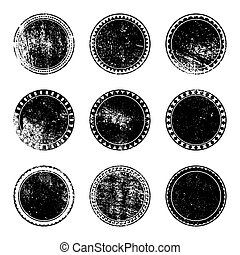 Grunge Stamp Set for your design EPS10 vector