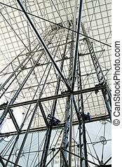 Grande Arche, La Defence, Paris. The unique arch shaped...