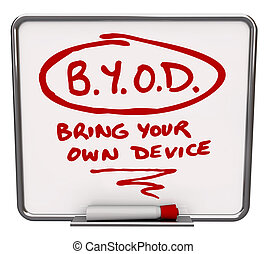 BYOD Message Board Company Policy Bring Your Own Device -...