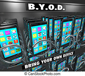 BYOD Smart Cell Phone Vending Machine Bring Your Own Device...