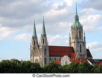 St. Paul church in Munich.
