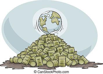 Earth at Peak Oil