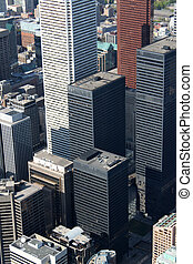 Toronto cityscape - Downtown business high rise buildings in...