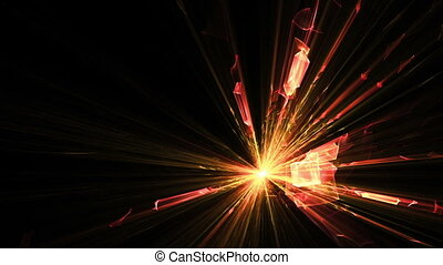 Explosion of light, blast - fireworks, explosion, burst of...