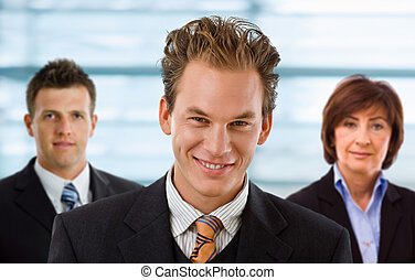 Team of business people - Team portrait of smiling business...