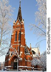 Church in Lulea city, norh of Sweden - Church in Lulea city...