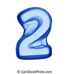 ice alphabet - digit