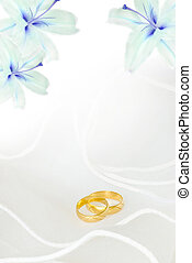 Wedding invitation - wedding invitation or greeting card...