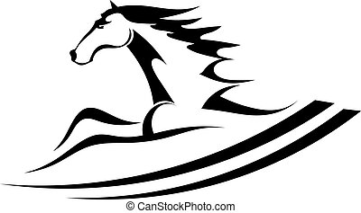 Steed thoroughbred illustrations and stock art 82 steed for Thoroughbred tattoo lookup