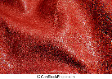 brown leather background - background made of a closeup of...