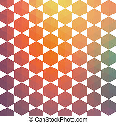 Triangles pattern of geometric shapes. Colorful mosaic backdrop. Geometric hipster retro background, place your text on the top of it. Retro triangle background. Backdrop