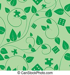 tree seamless pattern