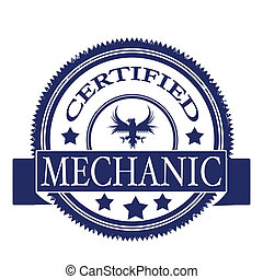 certified mechanic stamp